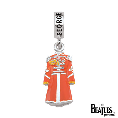 925 Sterling Silver Sgt. Pepper George Harrison Jacket Charm