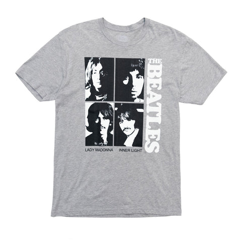 The Beatles (White Album) Singles Grey T-Shirt