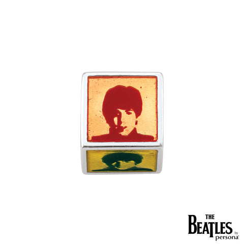 925 Sterling Silver The Beatles Cube Bead