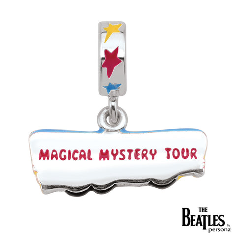925 Sterling Silver Magical Mystery Bus Dangle