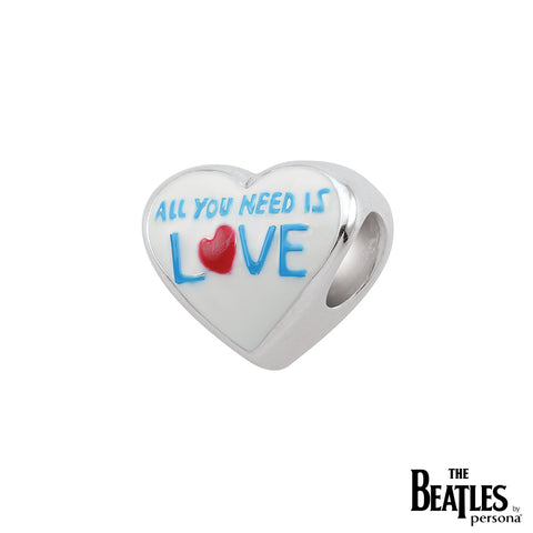 925 Sterling Silver All You Need Is Love Bead