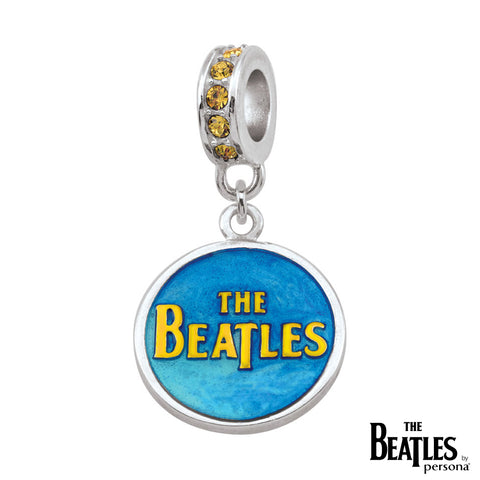 925 Sterling Silver Yellow Submarine Dangle