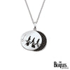 925 Sterling Silver Abbey Road CZ Necklace