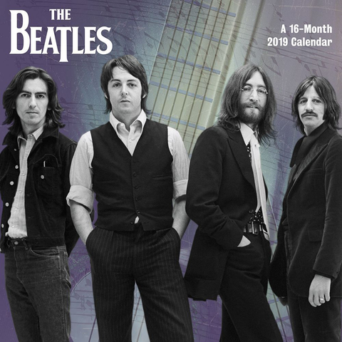 "The Beatles 2019 Day Dream Mini 7"" x 7"" Wall Calendar"