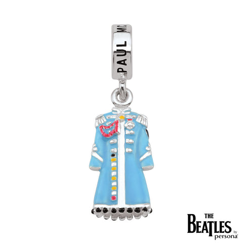 925 Sterling Silver Sgt. Pepper Paul McCartney Jacket Charm