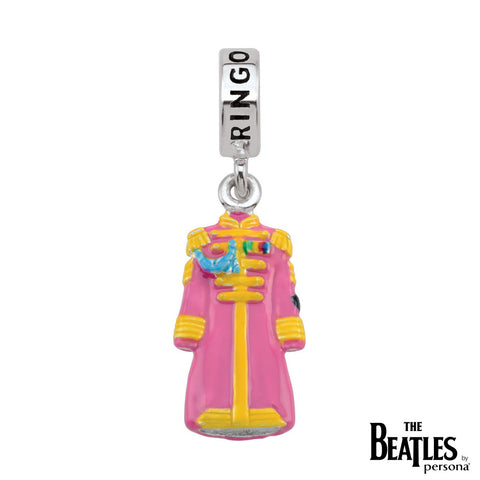 925 Sterling Silver Sgt. Pepper Ringo Starr Jacket Charm