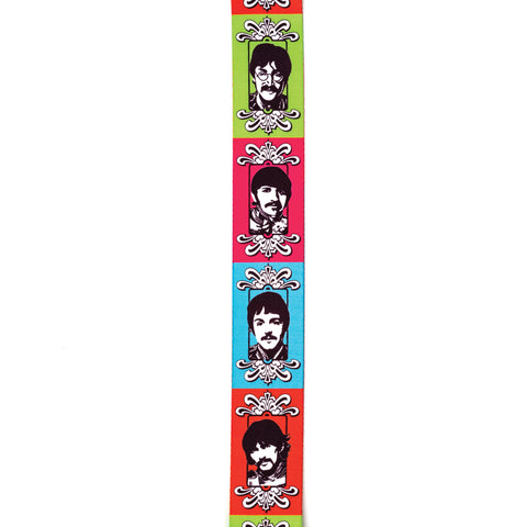 Sgt. Peppers 50th Anniversary Polyester Guitar Strap