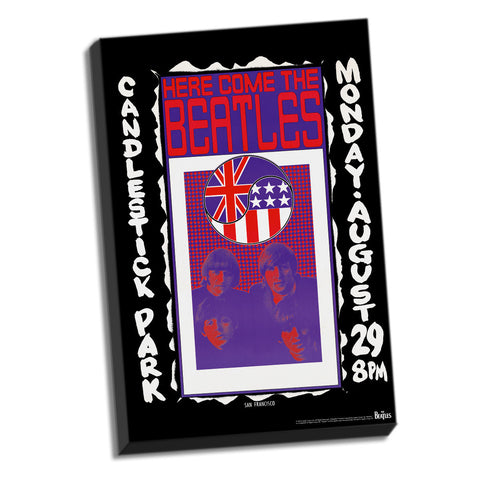 Candlestick Park Final Concert Stretched Canvas