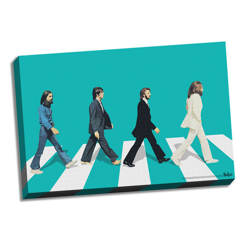 Green Horizon Abbey Road Canvas