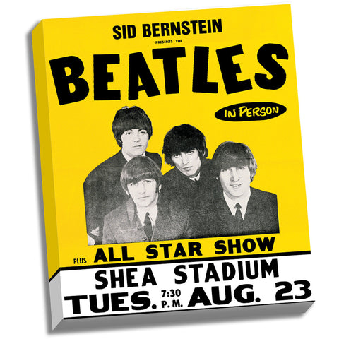 Shea Stadium 8/23/66 Canvas