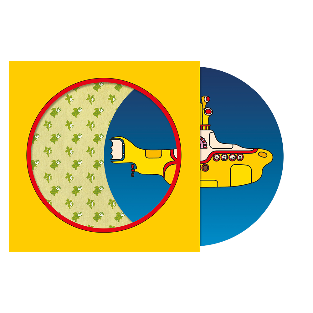 limited edition yellow submarine 50th anniversary 7 picture disc