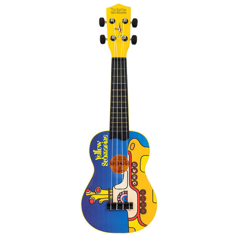 Yellow Submarine Blue Ukulele