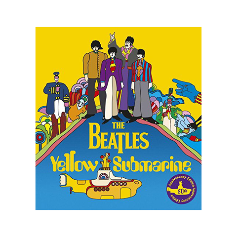 Yellow Submarine 50th Anniversary Edition Hardcover Book