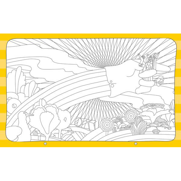 Yellow Submarine: A Creative Experience Coloring Book – The Beatles