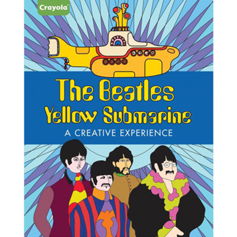 Yellow Submarine: A Creative Experience Coloring Book