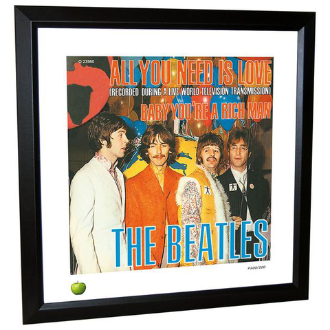 All You Need Is Love Limited Edition Framed Lithograph