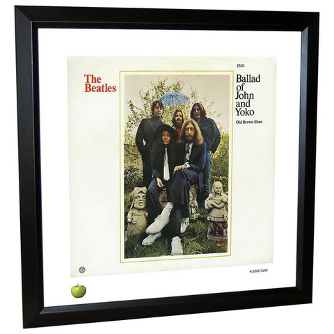 Ballad of John & Yoko Limited Edition Framed Lithograph