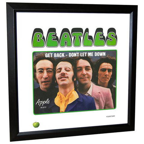 Get Back - Don't Let Me Down Limited Edition Framed Lithograph