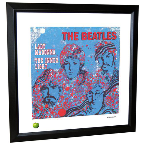 Lady Madonna Limited Edition Framed Lithograph