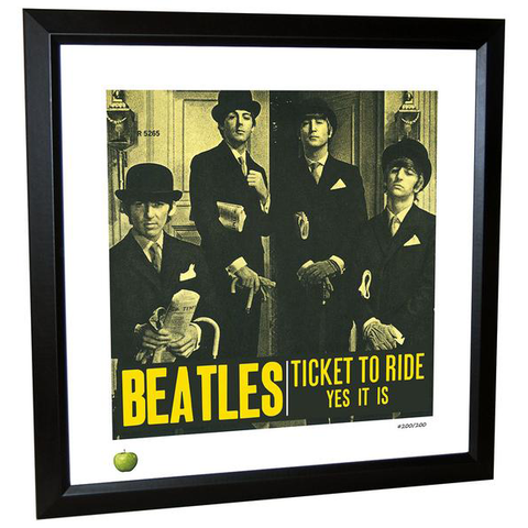 Ticket to Ride Limited Edition Framed Lithograph