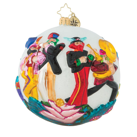 Strike Up The Band Ornament