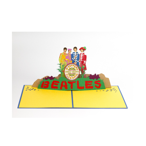 Sgt Pepper Love Pop Card