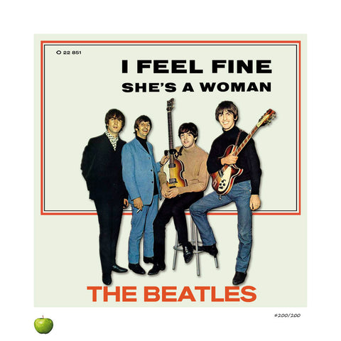 I Feel Fine Limited Edition Lithograph
