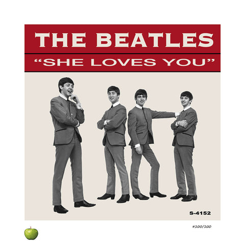 She Loves You Limited Edition Lithograph