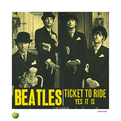 Ticket to Ride Limited Edition Lithograph