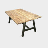 A-Frame Rustic Reclaimed Dining Table