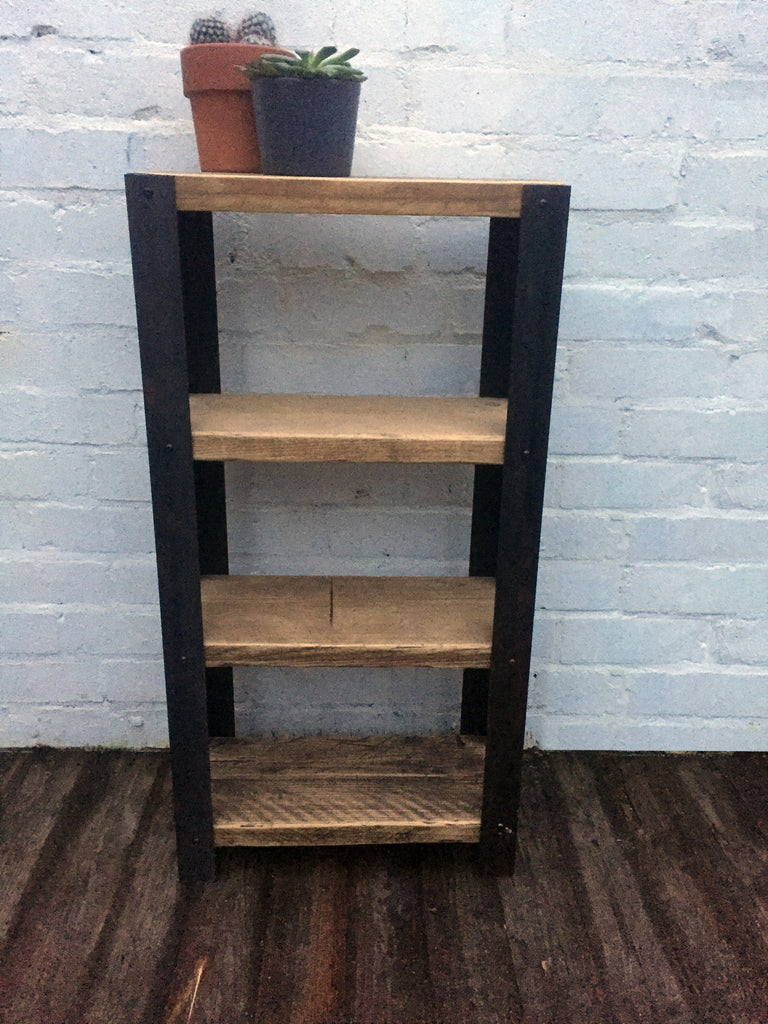 industrial style furniture. Angle Shelving Unit - Industrial Reclaimed Style Furniture