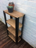 Angle Shelving Unit - Industrial Reclaimed Style Furniture