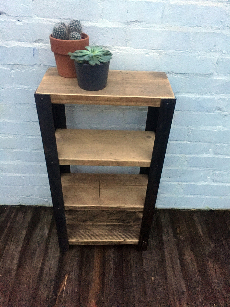 industrial reclaimed furniture. Angle Shelving Unit - Industrial Reclaimed Style Furniture