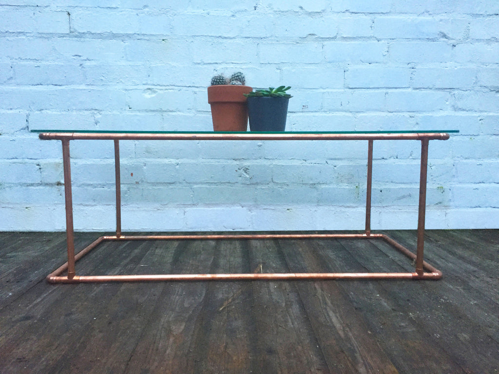 industrial reclaimed furniture. Copper Coffee Table -Industrial Reclaimed Style Furniture Industrial