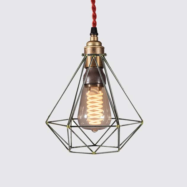 Diamond Basket Hanging light