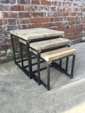 Industrial Style Nest of Tables