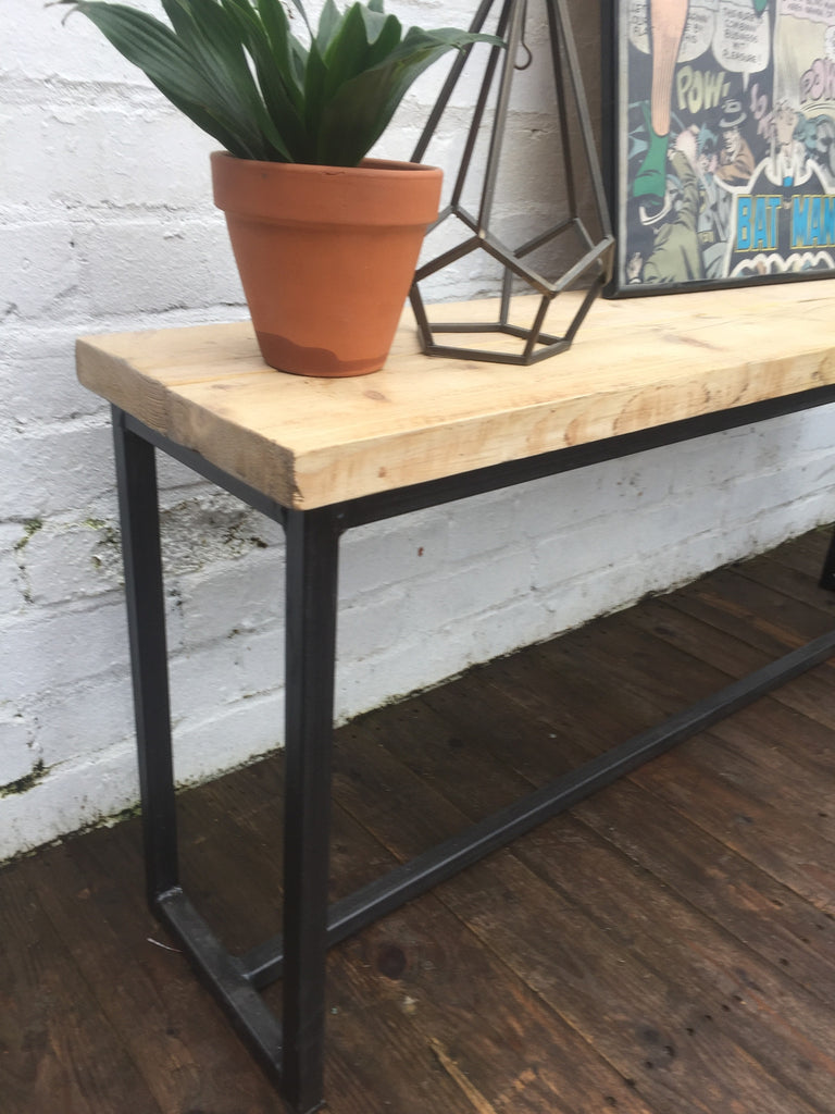 industrial style outdoor furniture. Industrial Style Bench/Console Table Outdoor Furniture