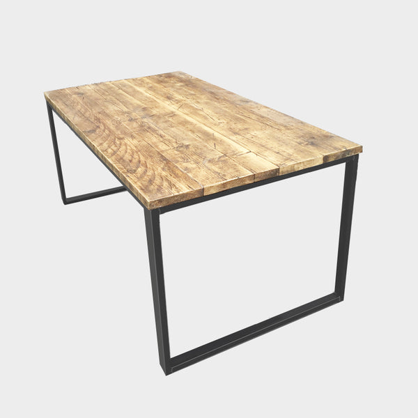 U-Bar Rustic Reclaimed Dining Table