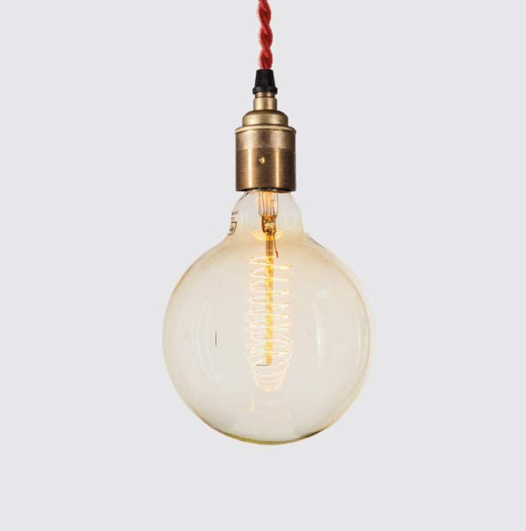 Antique Single Pendant -Industrial Reclaimed Style Furniture