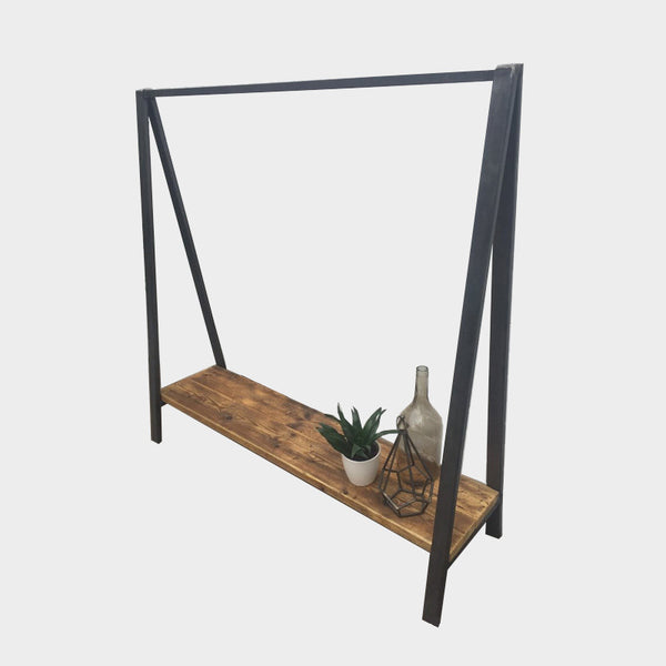Clothes / Display Rail- Industrial Rustic Reclaimed Style