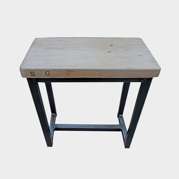 Small Stool- Industrial Reclaimed Style Furniture