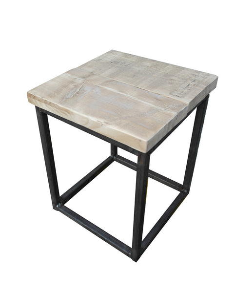 Box Stool - Industrial Reclaimed Style Furniture