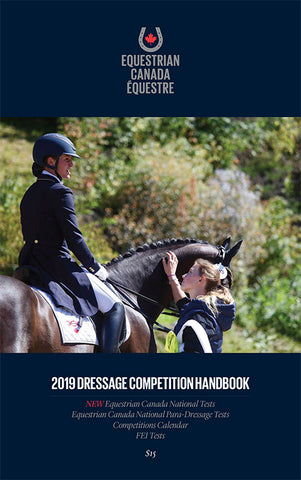 2019 Dressage Competition (Test) Handbook