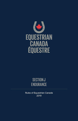 2019 EC Rule Book - Section J - Endurance