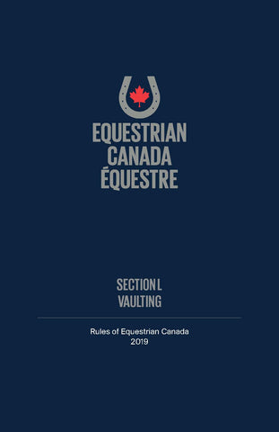 2019 EC Rule Book - Section L - Vaulting