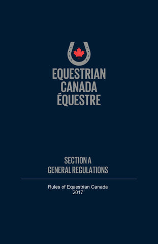 EC Rule book - Section A - General Regulations
