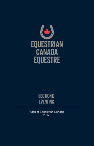EC Rule book - Section D - Eventing