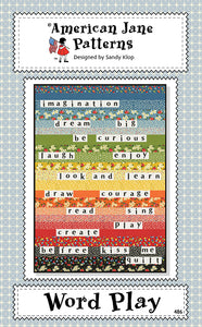 Word Play American Jane Pattern