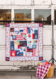 Kimberbell Red, White & Bloom Fabric Kit