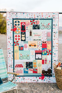 Kimberbell Vintage Boardwalk Embroidery Quilt Kit